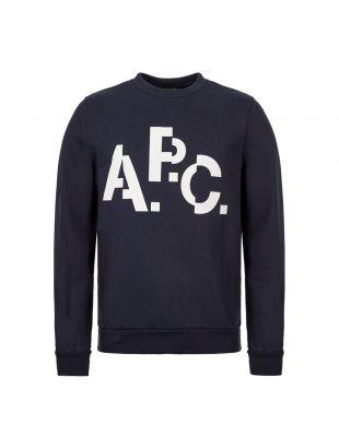 APC Sweatshirt Logo CODCQ H27529 IAK Navy