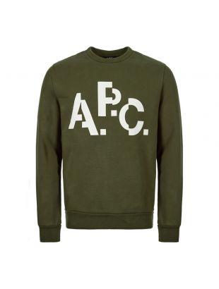 APC Sweatshirt Logo CODCQ H27529 JAC Green