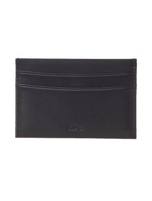 APC Card Holder Wallet PXAWV H63028 LZZ Black
