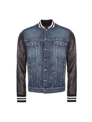 Balmain Jacket Denim | SH08462Z563 6AA Blue