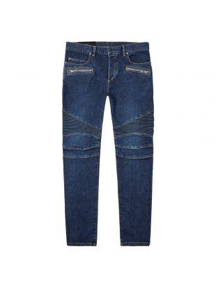 Balmain Jeans | SH15342Z162 6AA Blue Denim