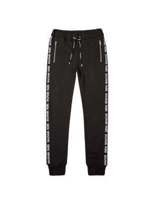 Balmain Joggers SH15631Z303 OPA in Black Tape