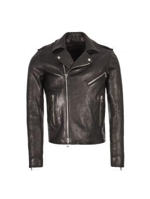 Balmain Leather Jacket RH18895L030 0PA Black