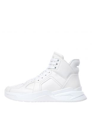 balmain trainers b-ball SM0C173L014 GDB white
