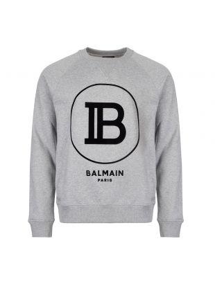 Balmain Sweatshirt | SH03279I199 9UB Grey