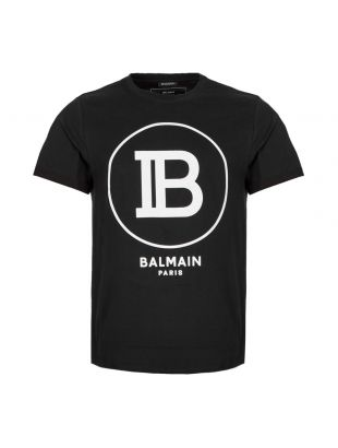 Balmain T-Shirt SH01135 |207 0PA in Black from Aphrodite