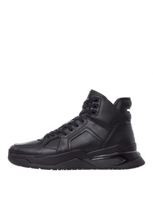 balmain b-ball trainers SM0C173L014 GDB black