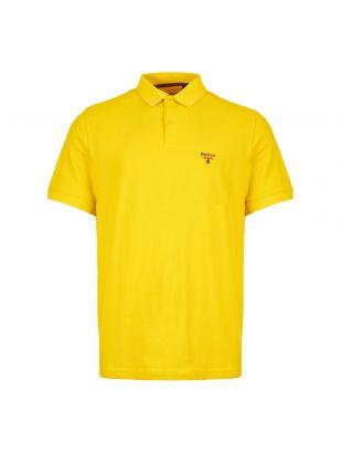 barbour beacon polo shirt MML0961 YE55 yellow