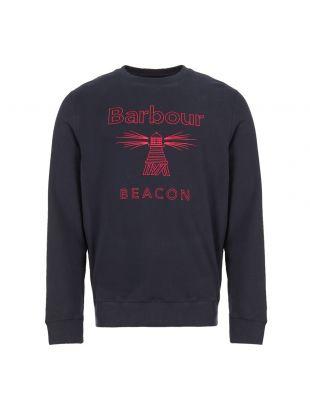 barbour beacon sweatshirt MOL0147 NY91 navy