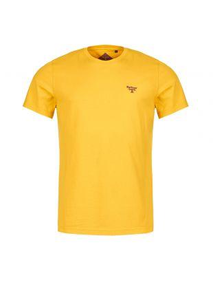 barbour beacon t-shirt MTS0430 YE55 sulphur yellow