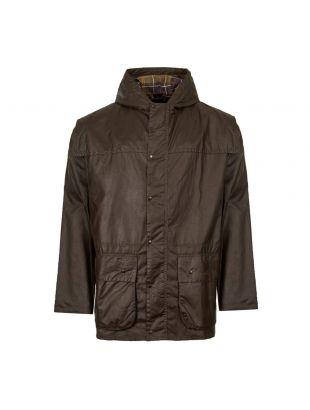 Barbour Jacket Durham Wax | MWX0011 SG31 Olive | Aphrodite1994