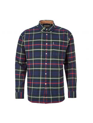 Barbour Check Shirt | MSH4553 NY91 Navy