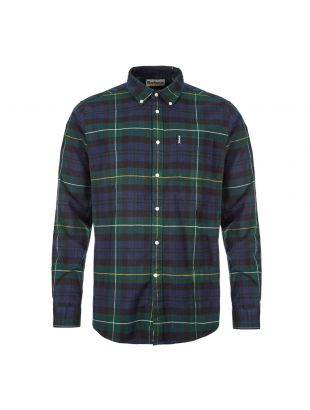 Barbour Check Shirt | MSH4552 GN51 Green
