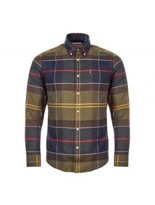 Barbour Tartan Shirt | MSH3235 TN52 Green / Red