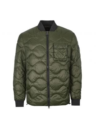 Barbour International Synon Jacket MQU1139|SG51 In Forest Green At Aphrodite Clothing