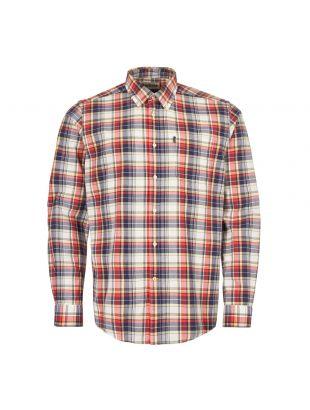 barbour shirt madras 1 MSH4419 PL51 red / blue check