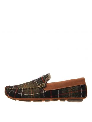 Barbour Monty Slippers Thinsulate MSL0002 Tartan