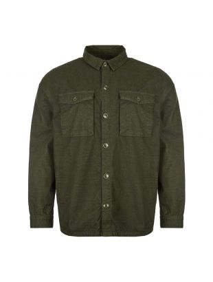 Barbour Overshirt | MOS0054 GN75 Dark Forest