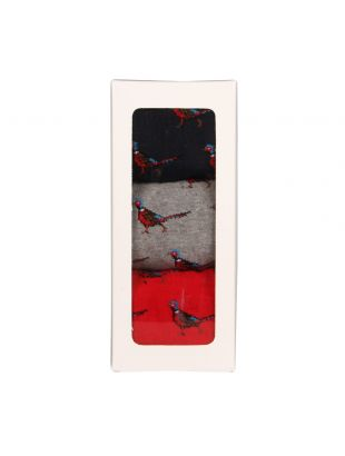 Socks - Red/Grey/Navy