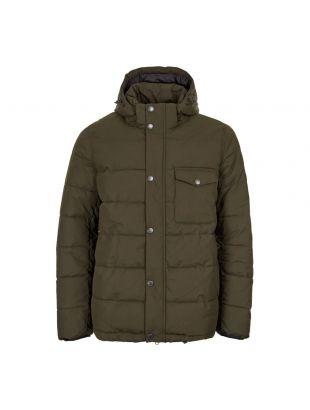 Barbour International Pivot Quilted Jacket MQU0993 SG71 Green