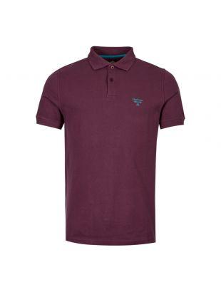 Barbour Beacon Polo Shirt | MML0961 RE94 Merlot