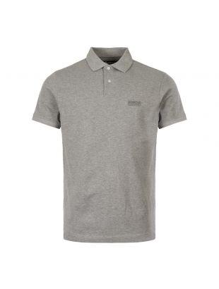 Barbour International Polo Shirt Logo | MML0914 GY52 Grey