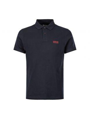Barbour International Polo Shirt Logo | MML0914 NY91 Navy