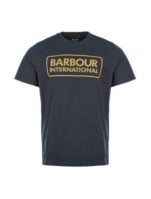 Barbour International T-Shirt Logo | MTS0369 NY91 Navy