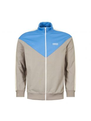 Barbour International Track Top Diode | MOL0157 GY12 Grey / Blue