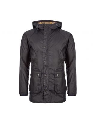 Bedale Hooded Jacket - Navy