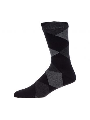 BOSS Socks 2 Pack 50414710 001 Black / Grey