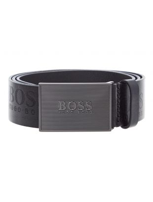 BOSS Belt Icon 50419412 001 Black