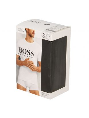Hugo Boss Black T-Shirt 3 Pack 50325388001 In Black