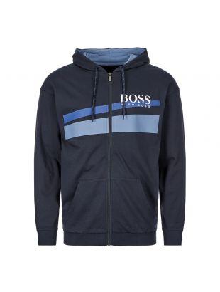 boss bodywear hoodie 50414491 403 navy