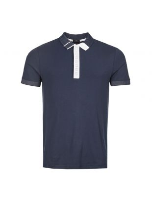 BOSS Athleisure Polo Shirt 50411153 410 Nav