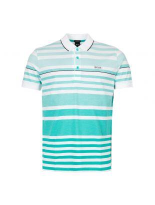 BOSS Athleisure Polo Shirt | 50411152 335 Light Pastel Green