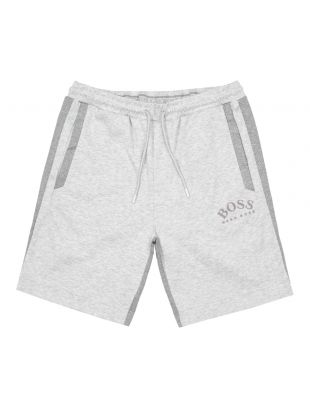 boss athleisure shorts headlo 50410285 057 grey