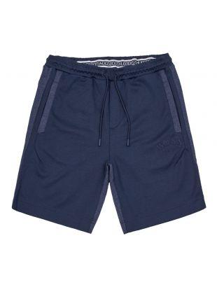 boss athleisure shorts headlo 50410285 410 navy