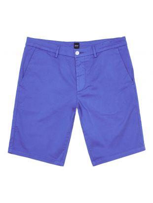 boss athleisure shorts liem4-5 50410981 422 medium blue