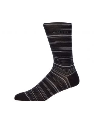 BOSS Socks Multi Stripe 50414697 001 Black