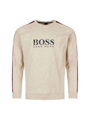 BOSS Bodywear Sweatshirt | 50409136 051 Light Pastel Grey