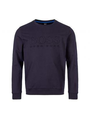 BOSS Heritage Sweatshirt | 50388904|403 Dark Blue