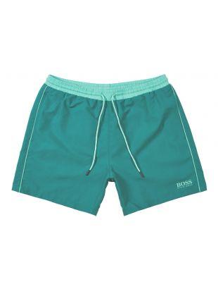 BOSS Bodywear Starfish Swim Shorts | 50408104 302 Green