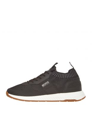 boss athleisure trainers 50410743 001 black