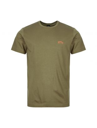 Athleisure T-Shirt Curved - Dark Green