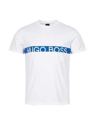 BOSS Bodywear T-Shirt | 50407600 102 White / Blue