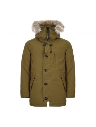 Canada Goose Chateau Jacket 3426MA 49 In Military Green At Aphrodite Clothing