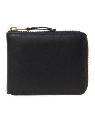 Comme des Garçons Classic Zip Wallet SA7100BK Black
