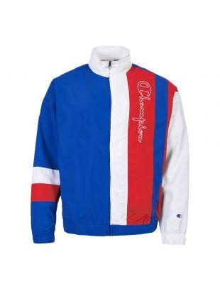 champion track jacket 213050 BS008 BAI/WHT multi