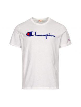 T Shirt Script Logo - White